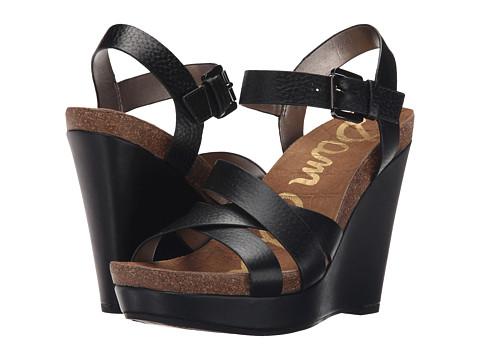 Incaltaminte Femei Sam Edelman Nelson Black New Tumble Leather