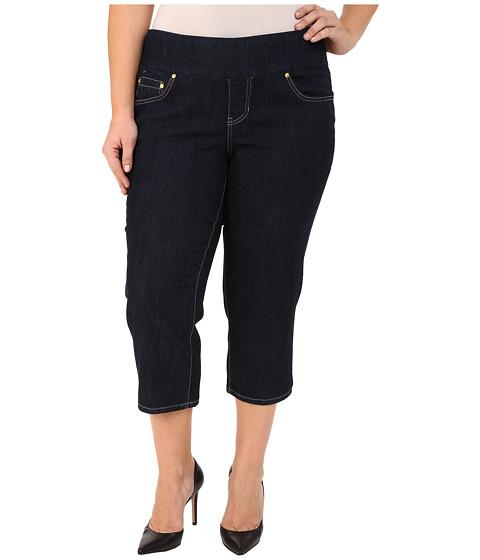 Imbracaminte Femei Jag Jeans Plus Size Echo Crop in Dark Shadow Comfort Denim Dark Shadow