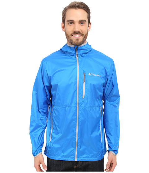 Imbracaminte Barbati Columbia Trail Driertrade Jacket Hyper BlueColumbia Grey
