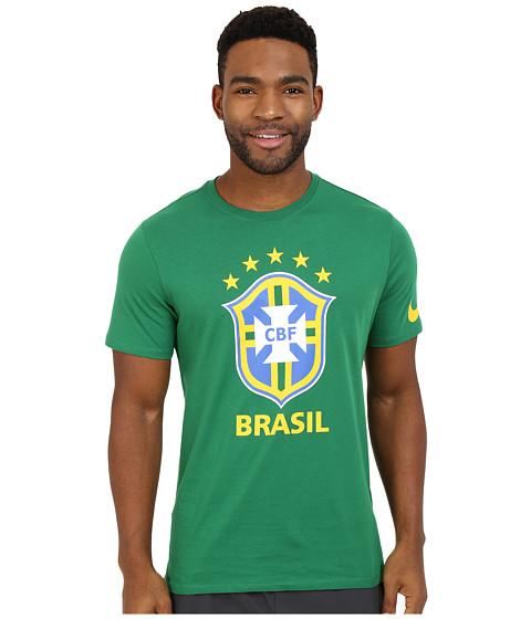 Imbracaminte Barbati Nike Brazil CBF Crest Tee Pine Green