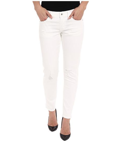 Imbracaminte Femei Lucky Brand Sienna Slim Boyfriend in White Destructed White Destructed