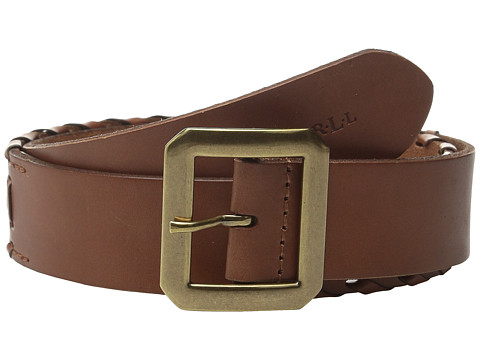 Accesorii Femei LAUREN Ralph Lauren Whipstitch Leather 1 12quot Belt Lauren Tan