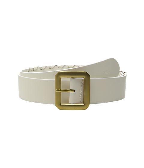 Accesorii Femei LAUREN Ralph Lauren Whipstitch Leather 1 12quot Belt Vanilla