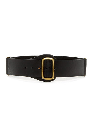 Accesorii Femei Steve Madden Faux Leather Stretch Waist Belt BLACK