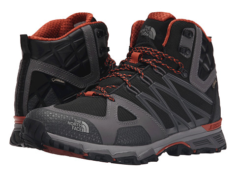 Incaltaminte Barbati The North Face Ultra Hike II Mid GTXreg TNF BlackArabian Spice