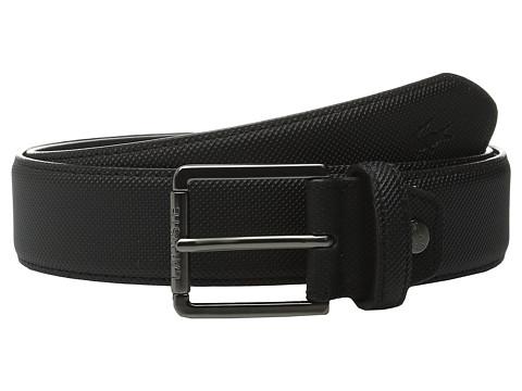 Accesorii Barbati Lacoste Premium Pique PVC Belt Black