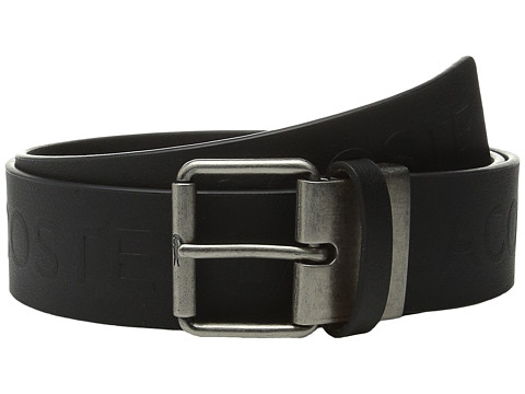 Accesorii Barbati Lacoste All Over Embossed Logo Belt Black