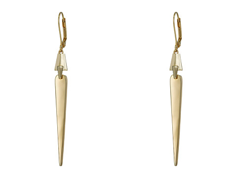 Bijuterii Femei Cole Haan Architectural Linear Earrings Gold