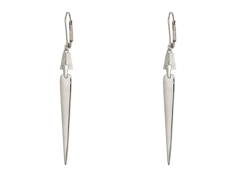 Bijuterii Femei Cole Haan Architectural Linear Earrings Light Rhodium