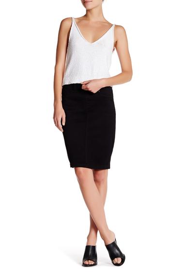 Imbracaminte Femei NYDJ Mina Pull-On Skirt BLACK