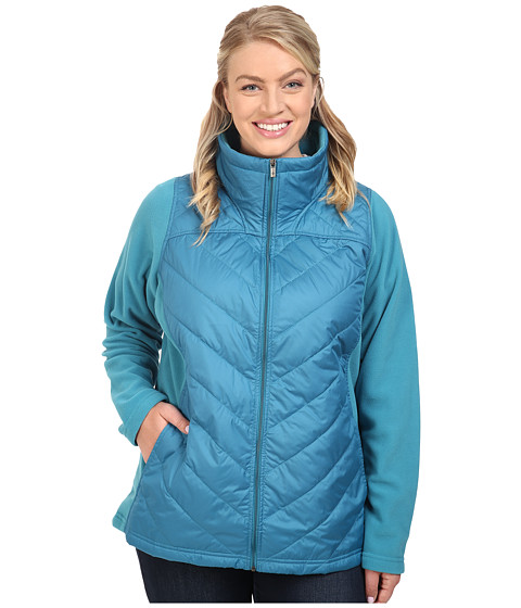 Imbracaminte Femei Columbia Plus Size Mix It Aroundtrade Full Zip Deep Marine