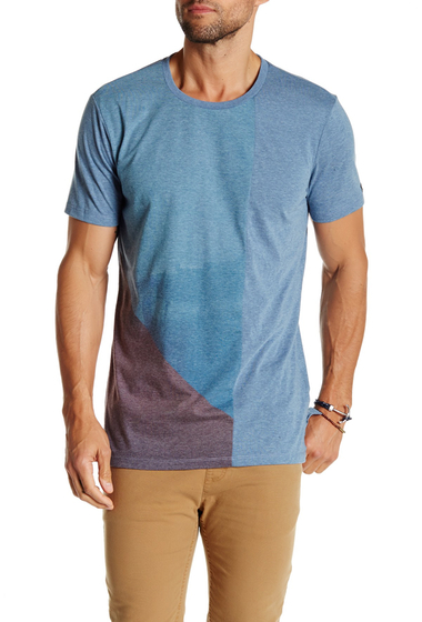 Imbracaminte Barbati Civil Society Maxwell Tee HEATHER BLUE