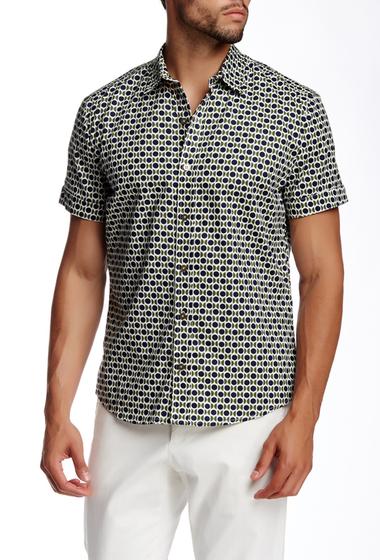 Imbracaminte Barbati Parke Ronen Concorde Army Print Short Sleeve Shirt CONCORDE ARMY