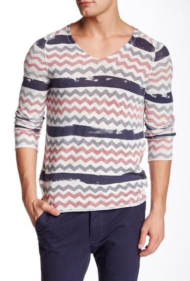 Imbracaminte Barbati Antony Morato Chevron Knit Sweater 1001SAND