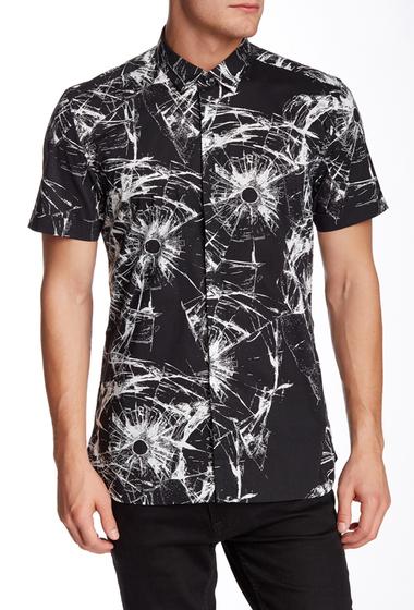 Imbracaminte Barbati Antony Morato Tie Dye American Fit Shirt 9000BLACK