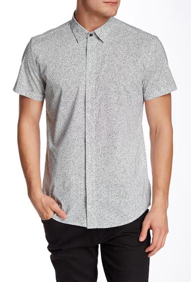 Imbracaminte Barbati Antony Morato Printed Slim Fit Shirt 1000WHITE