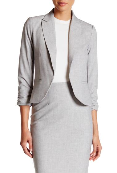 Imbracaminte Femei Amanda Chelsea Signature 34 Length Sleeve Jacket Petite GREY