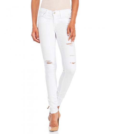 Imbracaminte Femei Flying Monkey White Destruct Skinny Jeans White