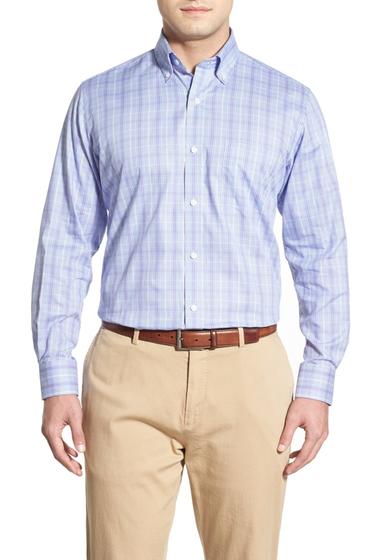 Imbracaminte Barbati TailorByrd Russelia Regular Fit Plaid Sport Shirt Big Tall LAVENDER