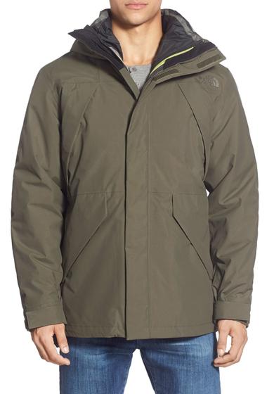 Imbracaminte Barbati The North Face Precipice Triclimate Jacket NEW TAUPE GREEN