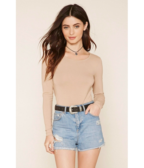 Imbracaminte Femei Forever21 Strappy Back Knit Top Taupe