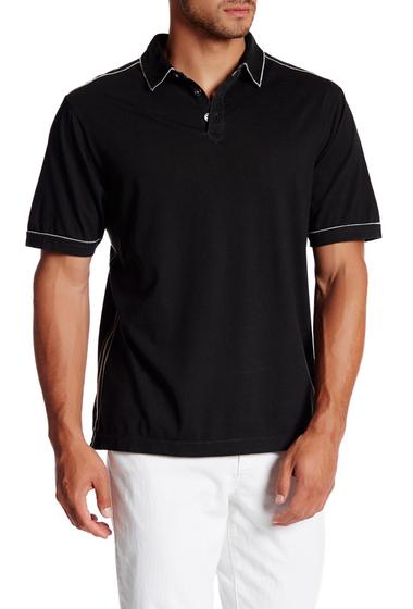 Imbracaminte Barbati Tommy Bahama Fray Day Short Sleeve Polo BLACK