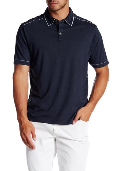 Imbracaminte Barbati Tommy Bahama Fray Day Short Sleeve Polo INDIGO