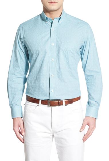 Imbracaminte Barbati TailorByrd Marjoram Regular Fit Plaid Sport Shirt Big Tall GREEN
