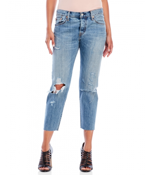 Imbracaminte Femei Levi's Time Gone By 501 CT Cropped Jeans Time Gone By