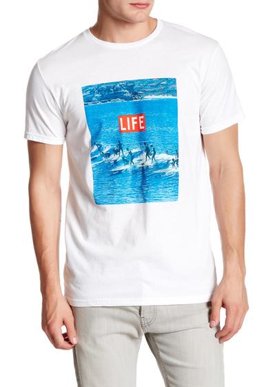 Imbracaminte Barbati Altru Life Surf Tee WHITE