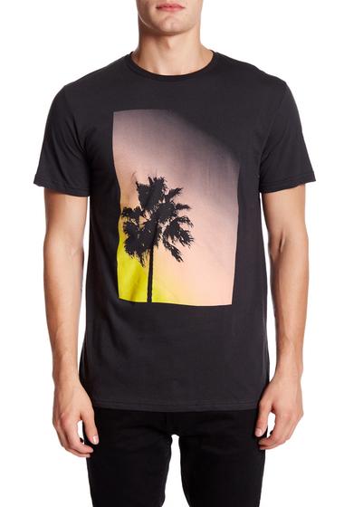 Imbracaminte Barbati Altru Palm Tree Sunset Tee BLACK