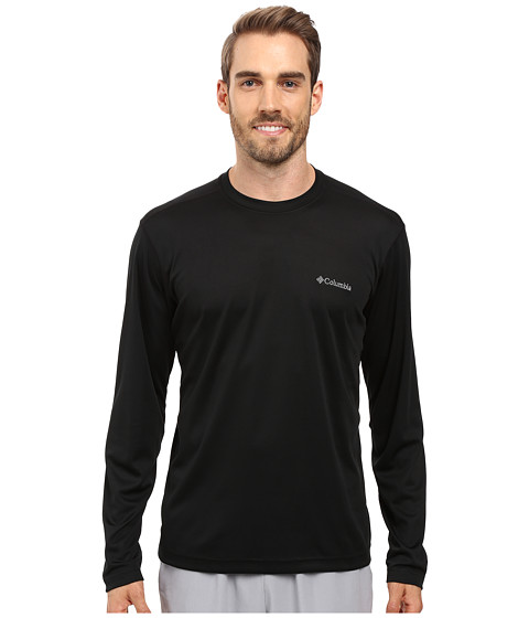 Imbracaminte Barbati Columbia Meeker Peaktrade Long Sleeve Crew Black