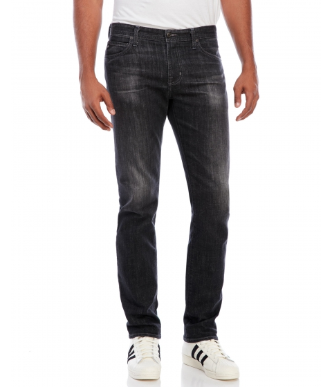 Imbracaminte Barbati Ag By Adriano Goldschmied Black The Graduate Tailored Leg Jeans Black