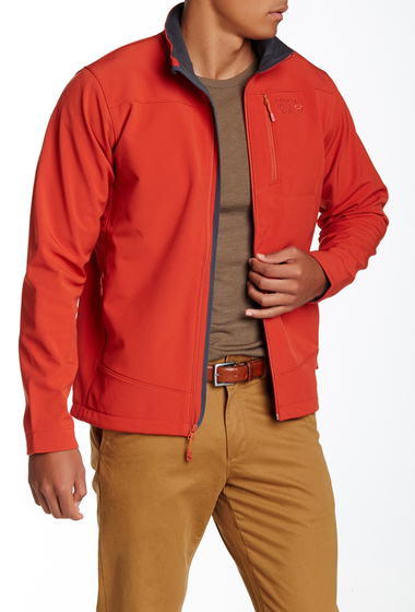 Imbracaminte Barbati Mountain Hardwear Fairing Wind Water Resistant Jacket FLAME