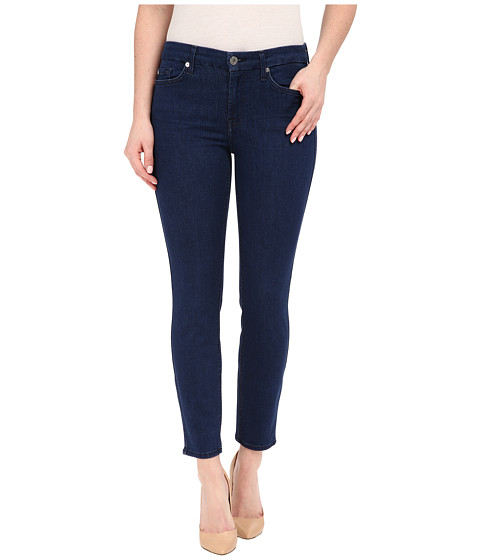 Imbracaminte Femei 7 For All Mankind Kimmie Crop in Slim Illusion Luxe Bright Rinse Slim Illusion Luxe Bright Rinse