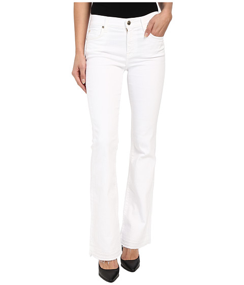 Imbracaminte Femei 7 For All Mankind Tailorless Bootcut w Released Hem in White White