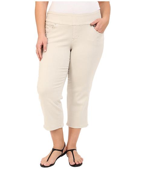 Imbracaminte Femei Jag Jeans Plus Size Echo Crop in Dolce Twill Stone