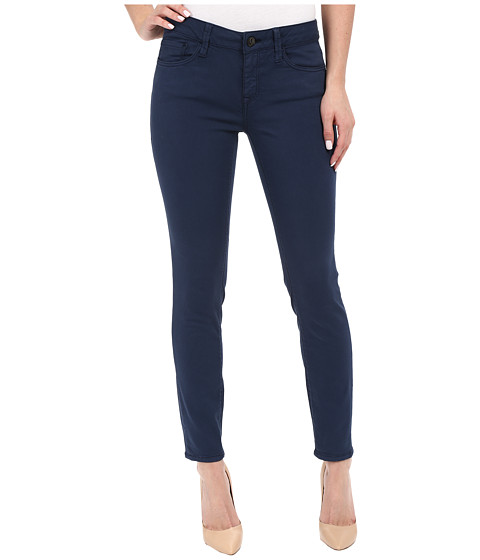Imbracaminte Femei Mavi Jeans Adriana Mid-Rise Super Skinny Ankle in Faded Navy Faded Navy