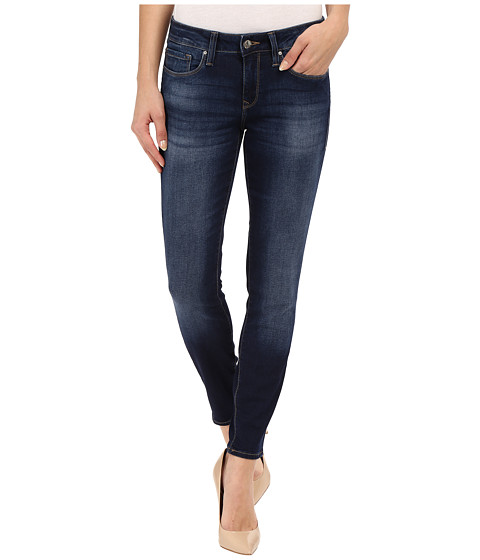 Imbracaminte Femei Mavi Jeans Alexa Mid-Rise Skinny Ankle Jeans in Dark Brush Shanti Dark Brush Shanti