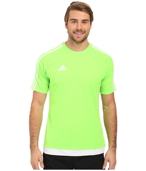 Imbracaminte Barbati adidas Estro 15 Jersey Solar GreenWhite