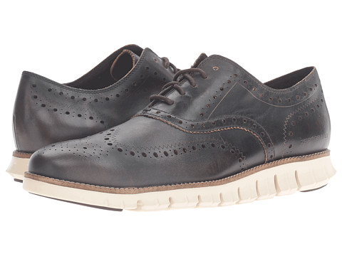 Incaltaminte Barbati Cole Haan Zerogrand Wing Oxford Java LeatherIvory