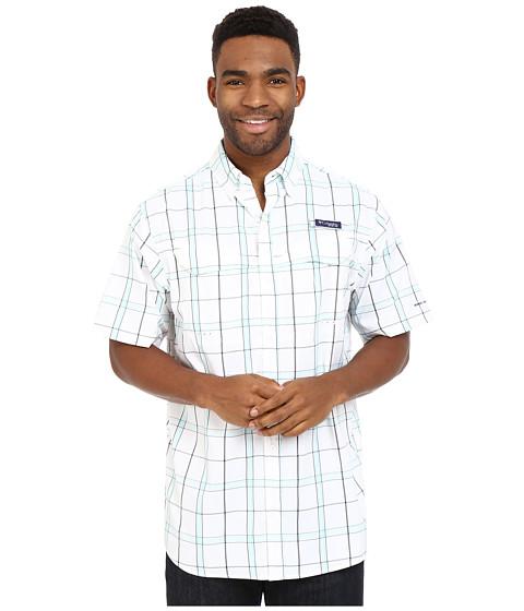 Imbracaminte Barbati Columbia Super Low Dragtrade Short Sleeve Shirt Gulf Stream Plaid