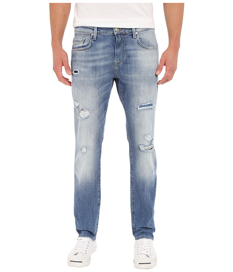 Imbracaminte Barbati Mavi Jeans Jake Tapered Fit in Mid Patched Williamsburg Mid Patched Williamsburg