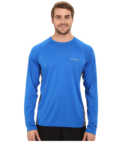 Imbracaminte Barbati Columbia Chillertrade Long Sleeve Shirt Super BlueGraphite