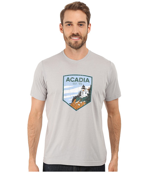 Imbracaminte Barbati Columbia National Parks Tee Grey HeatherAcadia