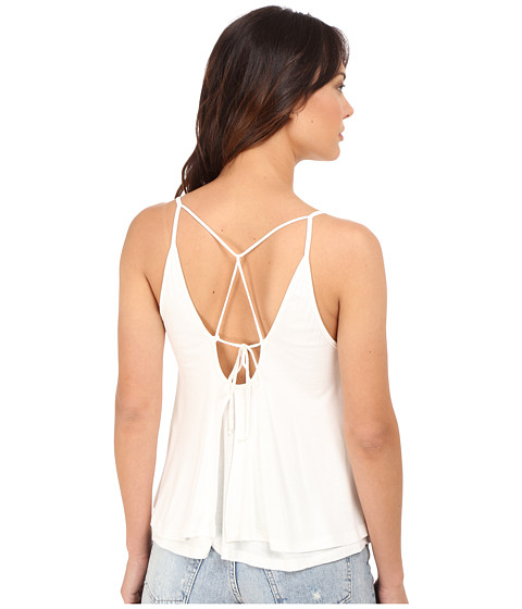 Imbracaminte Femei Culture Phit Anja Layered Sheer Jersey Tank Top Off-White