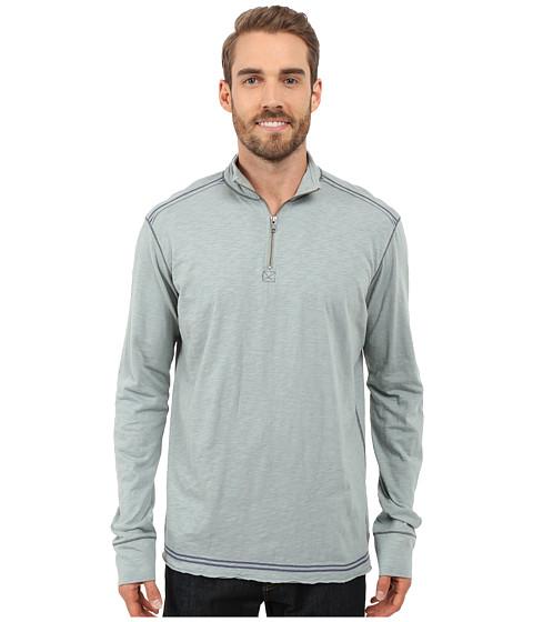 Imbracaminte Barbati Ecoths Black Rock 34 Zip Shirt Silver Blue