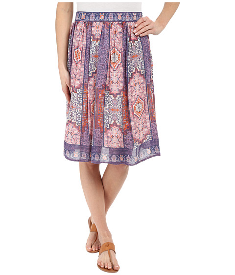 Imbracaminte Femei Lucky Brand Tapestry Print Skirt Pink Multi