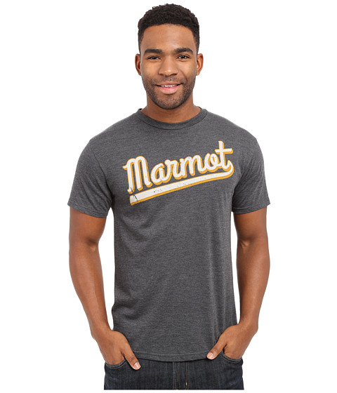 Imbracaminte Barbati Marmot Field Short Sleeve Tee Charcoal Heather