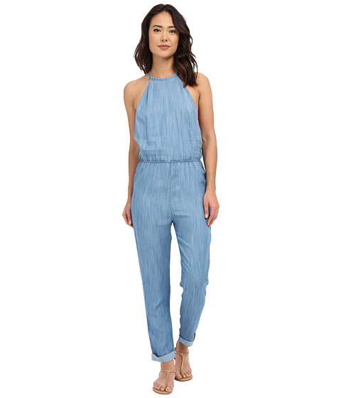 Imbracaminte Femei RVCA Be About It Jumpsuit Chambray 2